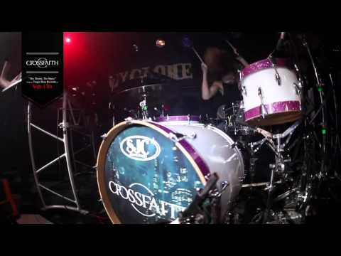 Crossfaith - Chaos Attractor (Live Drum Video)