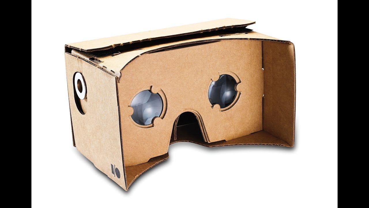 Картонные 3D очки виртуальной реальности - Google cardboard / обзор, распаковка, сборка DIY #12 - YouTube
