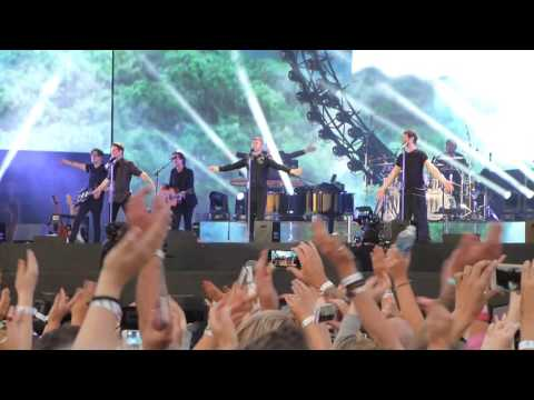 Pray, Take That, Live, Hyde Park, London, Sat 9th July 2016