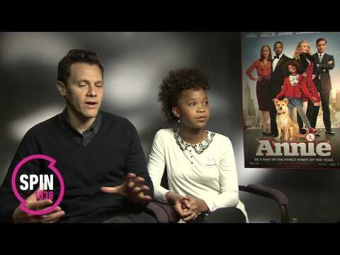 Plan B - Annie - Quvenzhane Wallis & Will Gluck Interview   SPIN 1038