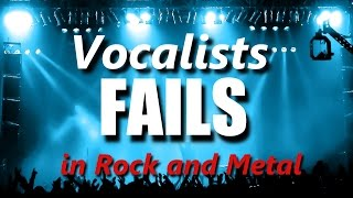 Vocalists FAILS in Rock and Metal | RockStar FAIL