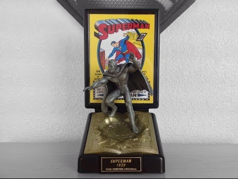 Golden Age Superman Ltd Edition Pewter Figurine Review