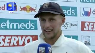1st Test Presentation - England tour of Sri Lanka 2018