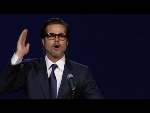 Funny video: Brad Pitt sings David Oyelowo's name