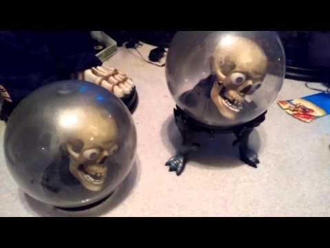 Two small skull spirit balls thumbnail