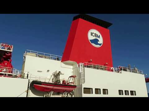 FS Sonne verlässt Emden - Große Seeschleuse 17.Dezember 2017