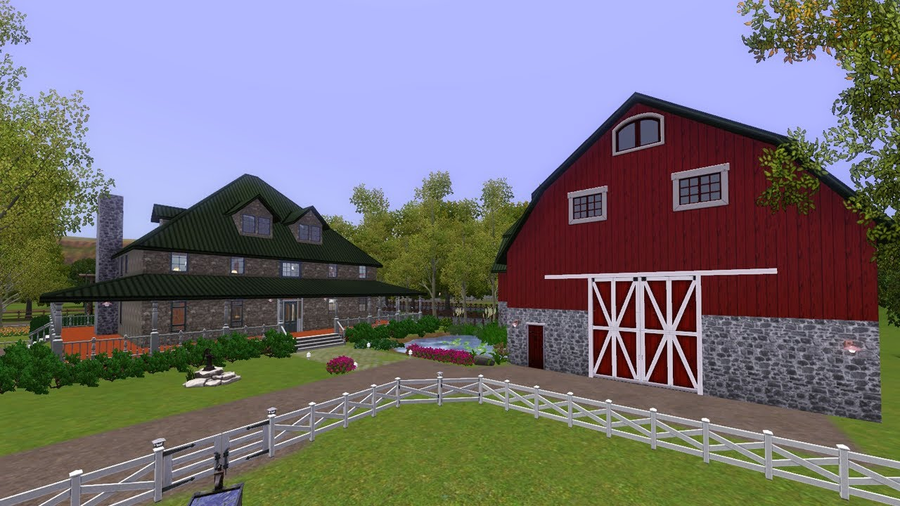 The Sims 3 - Building Paradise Ranch - YouTube