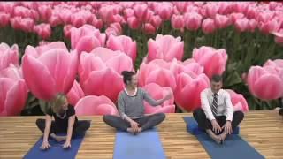 Good Day Spokane Anchors Try Yoga