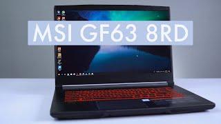 Đánh giá chi tiết MSI GF63-8RD