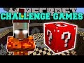 Minecraft: FIRE WITCH CHALLENGE GAMES - Lucky Block Mod - Modded Mini-Game