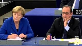 Ryszard Legutko to Merkel and Hollande: The EU is 28 countries, not two!