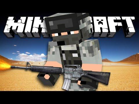 СПЕЦНАЗ - Minecraft (Обзор Мода)