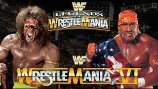 Ultimate Warrior vs Hulk Hogan: Extreme Rules Match At Wrestlemania 2016 - WWE 2K16 (PS4)