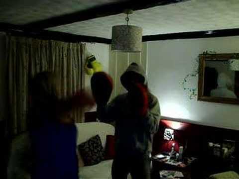 Nicola Boxing!xxx