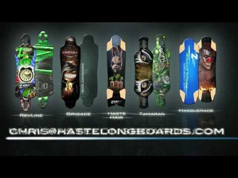 Haste Longboards Product Lineup