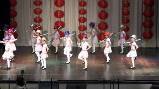儿童爵士舞ZhaolidanceSchool2011新春嘉年华