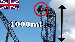 TOP 5 SCARIEST RIDES IN THE UK! [HD] 2017 - POV's