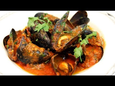 Mussels (Moules) Moroccan Style Recipe