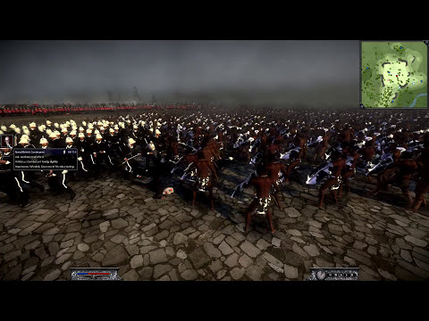 Napoleon Total War: Zulu Mod: Hold the Square!