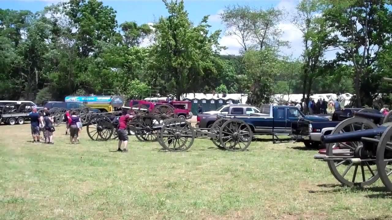 reenactment slag bij gettysburg vr 5 juli 2013 youtube