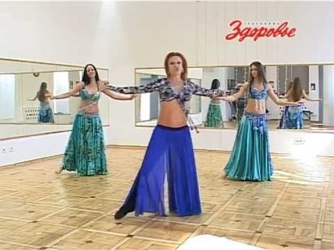 Уроки арабских танцев - видео