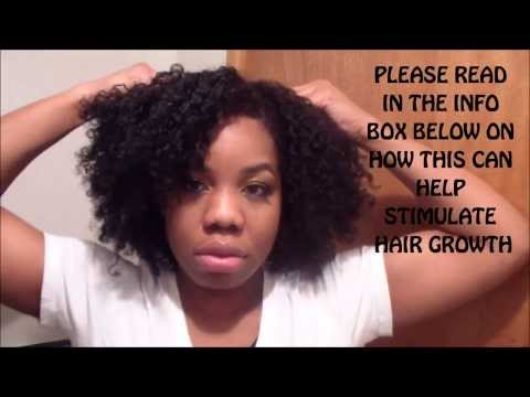 JUST 3 MINUTE OF THIS!!! CAN HELP STIMULATE HAIR GROWTH
