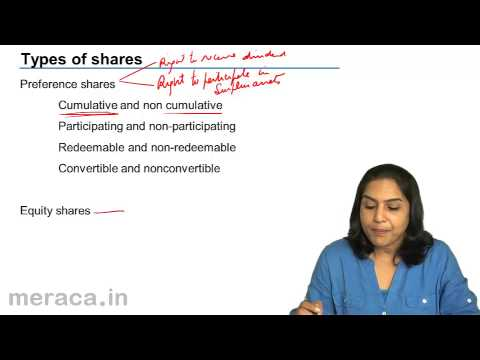 types of shares Types of shares a company may have many different types of shares that come with different conditions and rights in relation to profit entitlement, entitlement to capital if the business is wound up and voting rights within the business.