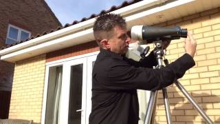 Derek Rowley gives BSL safety advice to enjoy the Eclipse