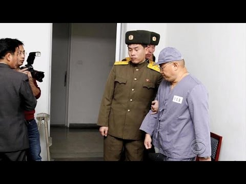Americans freed by North Korea arrive home