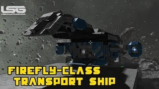 Serenity Firefly Class Transport Ship - Space Engineers