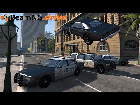 BeamNG.drive - SPEEDWAY JUMP
