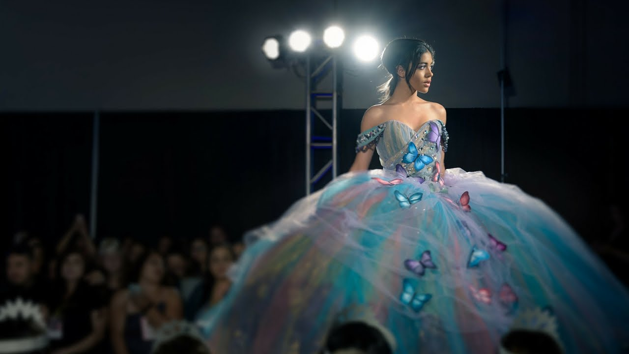 Quinceanera dresses fashion show 20