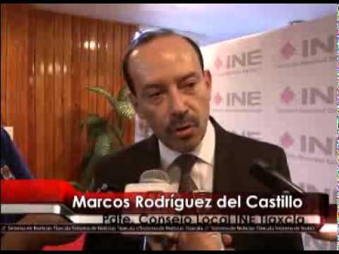 Presenta INE Tlaxcala avance de proceso electoral 2015