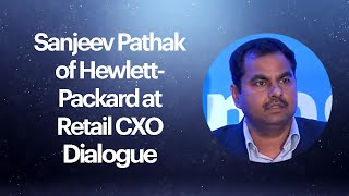 Sanjeev Pathak of Hewlett-Packard at
