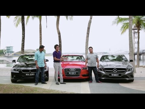 DRIVEN 2014 #7: Audi A3 Sedan 1.8T quattro vs Mercedes-Benz CLA 200 vs BMW 316i
