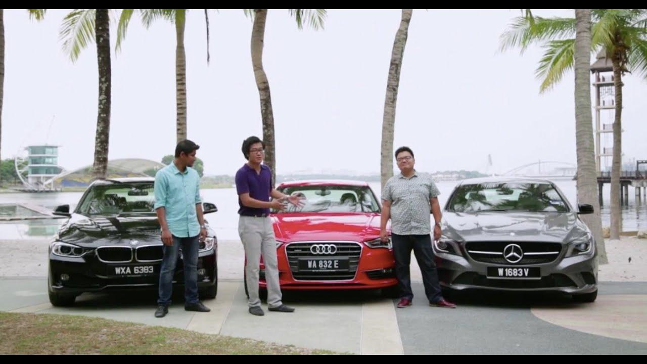 Driven 2014 7 Audi A3 Sedan 1 8t Quattro Vs Mercedes