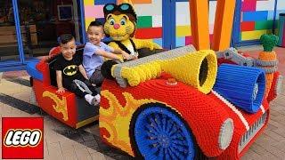 Giant Lego Car Children's Fun Theme Park Legoland Kids Playground Rides With Ckn Toys