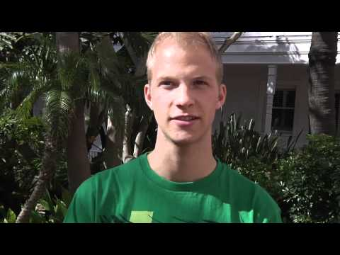 Dallin Farnsworth before Foot Locker CC Champs 2011