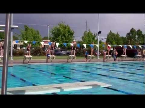 Wow...12 year old swimmer beats Olympic Gold Medalist Josh Davis