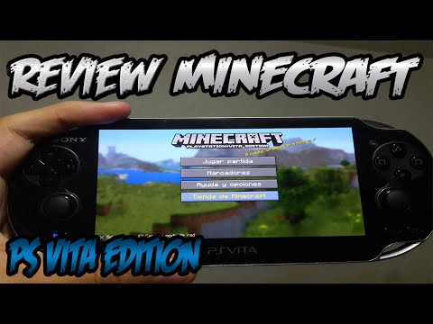 REVIEW - MINECRAFT  DE PSVITA EDITION EN ESPAÑOL