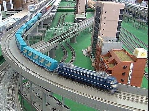 【HD】湯郷温泉 てつどう模型館&レトロおもちゃ館 Nゲージ