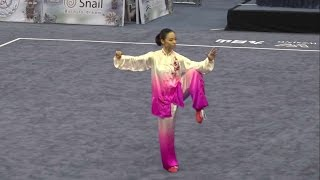 13th World Wushu Championships, Women Taijiquan INA Lindswell 9.70