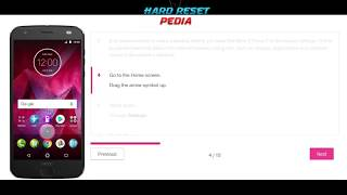 ☑️ Motorola Moto Z2 Force Factory Data Reset
