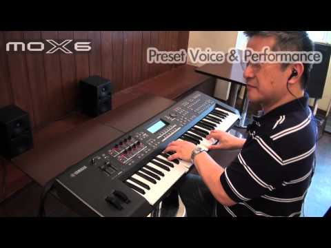 Yamaha MOX6 Demo 1/2 : Voice & Performance