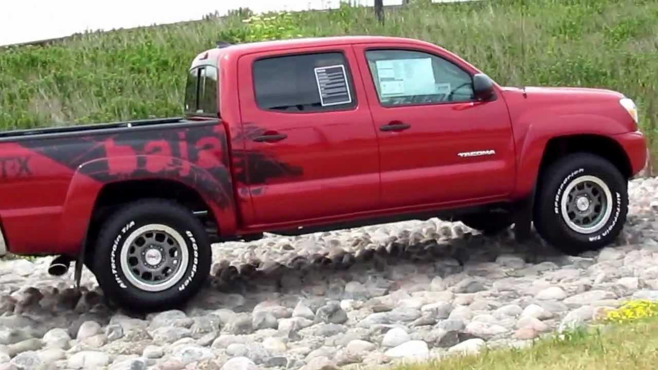 Tacoma Access Cab >> 2012 Toyota Tacoma TRD BAJA Edition - YouTube