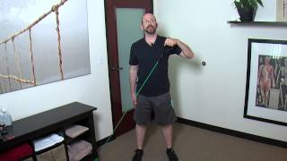 Sword Upper Body/Torso Exercise Demonstration
