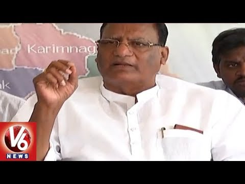 TRS MP Gutha Sukender Reddy Demands Special Status For Telangana | Nalgonda | V6 News