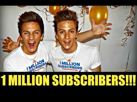 1 MILLION SUBSCRIBERS - SKILLTWINS LIVE REACTION!!!