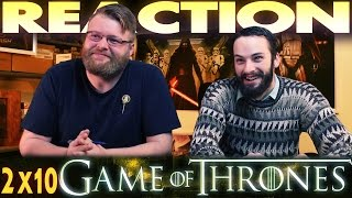 "Game of Thrones 2x10 REACTION!! ""Valar Morghulis"""