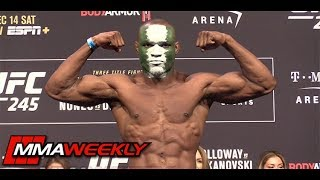 UFC 245 Ceremonial Weigh-Ins: Kamaru Usman vs Colby Covington  (FULL)